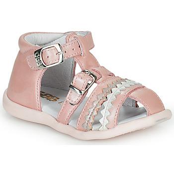 鞋子 女孩 涼鞋 GBB ALIDA 玫瑰色