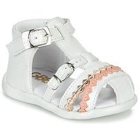 鞋子 女孩 凉鞋 GBB ALIDA 白色