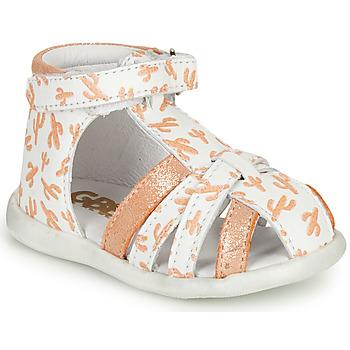 鞋子 女孩 凉鞋 GBB AGRIPINE 橙色
