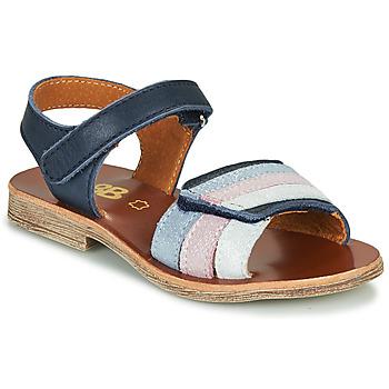 鞋子 女孩 凉鞋 GBB MIMOSA 海蓝色