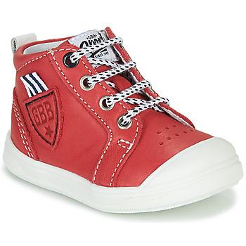 鞋子 男孩 高幫鞋 GBB GREGOR 紅色
