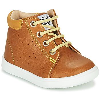 鞋子 男孩 高幫鞋 GBB FOLLIO 棕色