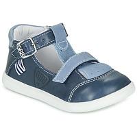 鞋子 男孩 高幫鞋 GBB BERETO 藍色