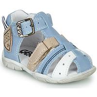 鞋子 男孩 凉鞋 GBB BYZANTE 蓝色 / 灰色