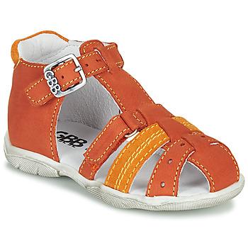 鞋子 男孩 凉鞋 GBB ARIGO 橙色