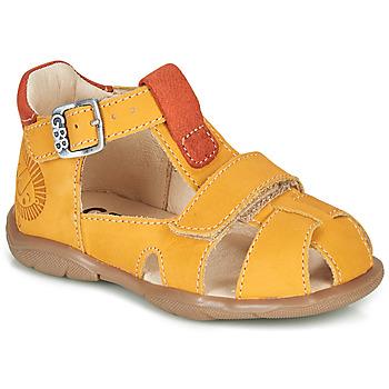鞋子 男孩 凉鞋 GBB SEROLO 黄色 / 橙色