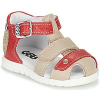 鞋子 男孩 凉鞋 GBB BASILA 红色 / 米色