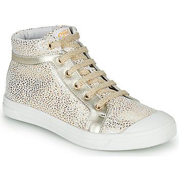 鞋子 女孩 高帮鞋 GBB NAVETTE 白色 / 金色