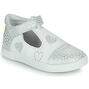 鞋子 女孩 平底鞋 GBB ANISA 白色