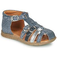 鞋子 女孩 凉鞋 GBB PERLE 蓝色