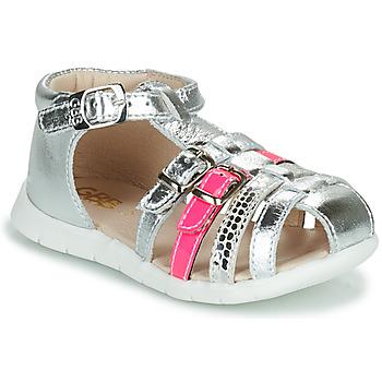 鞋子 女孩 涼鞋 GBB PERLE 銀灰色