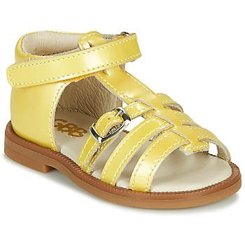 鞋子 女孩 凉鞋 GBB ANTIGA 黄色