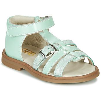 鞋子 女孩 凉鞋 GBB ANTIGA 绿色
