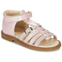 鞋子 女孩 凉鞋 GBB ANTIGA 玫瑰色