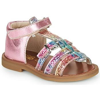 鞋子 女孩 凉鞋 GBB PHILIPPINE 玫瑰色