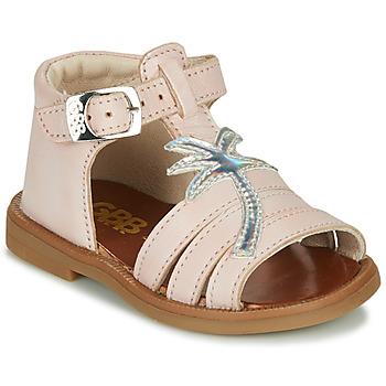 鞋子 女孩 凉鞋 GBB ARAGA 玫瑰色