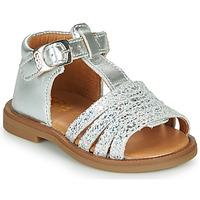 鞋子 女孩 涼鞋 GBB ATECA 銀灰色