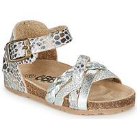 鞋子 女孩 涼鞋 GBB ALECTA 銀灰色