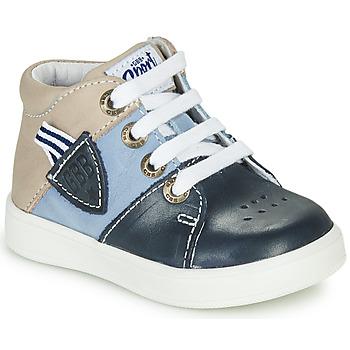 鞋子 男孩 高帮鞋 GBB AMOS 蓝色