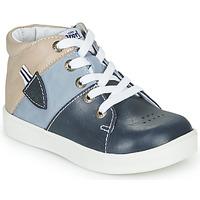 鞋子 男孩 高帮鞋 GBB AMOS 蓝色 / 灰色