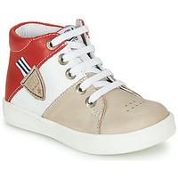 鞋子 男孩 高帮鞋 GBB AMOS 米色 / 白色 / 红色