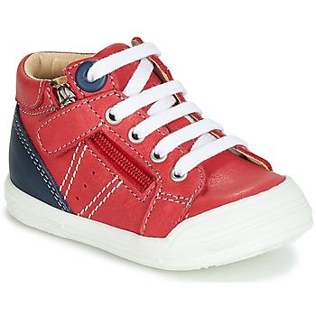 鞋子 男孩 高幫鞋 GBB ANATOLE 紅色