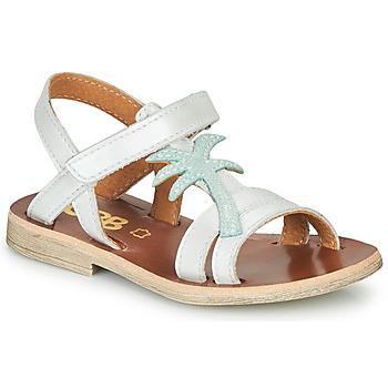 鞋子 女孩 涼鞋 GBB SAPELA 白色