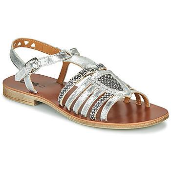 鞋子 女孩 凉鞋 GBB FANNI 银灰色