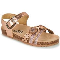 鞋子 女孩 涼鞋 GBB PANORA 玫瑰色 / 金色
