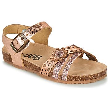 鞋子 女孩 凉鞋 GBB PANORA 玫瑰色 / 金色