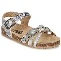 鞋子 女孩 凉鞋 GBB PANORA 银灰色