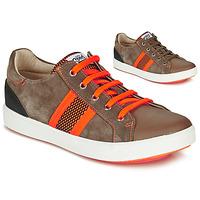 鞋子 男孩 球鞋基本款 GBB ANTENO 棕色 / 橙色