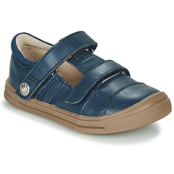 鞋子 男孩 球鞋基本款 GBB MANUK 蓝色