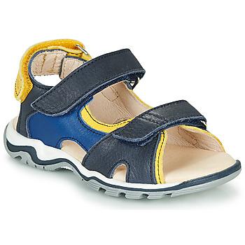 鞋子 男孩 涼鞋 GBB DIMOU 藍色