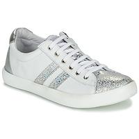 鞋子 女孩 球鞋基本款 GBB MAPLUE 白色 / 银灰色