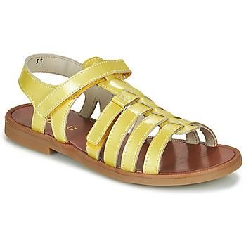 鞋子 女孩 凉鞋 GBB KATAGAMI 黄色