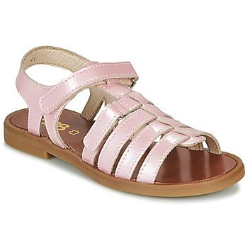 鞋子 女孩 凉鞋 GBB KATAGAMI 玫瑰色