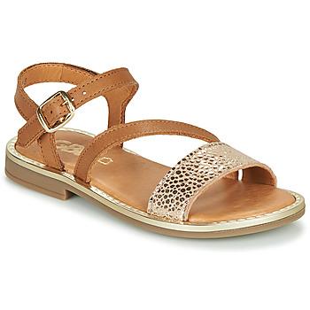 鞋子 女孩 凉鞋 GBB FANA 棕色