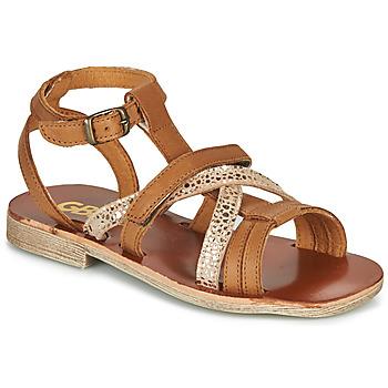 鞋子 女孩 凉鞋 GBB JULIA 棕色