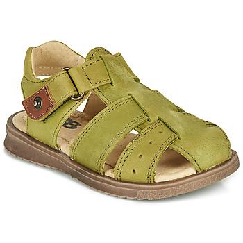 鞋子 男孩 凉鞋 GBB JAMIK 绿色