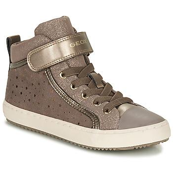 鞋子 女孩 球鞋基本款 Geox 健乐士 KALISPERE 米色
