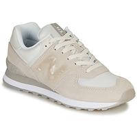 鞋子 女士 球鞋基本款 New Balance新百伦 WL574WNT 米色