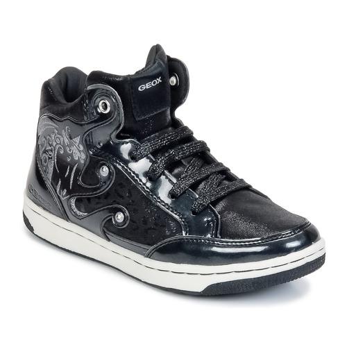 鞋子 女孩 高帮鞋 Geox 健乐士 CREAMY A 黑色