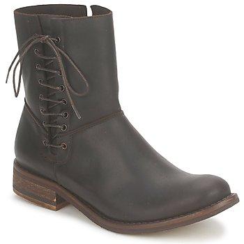 鞋子 女士 短筒靴 Stephane Gontard RINGO 棕色