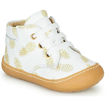 鞋子 女孩 高幫鞋 GBB ATARINA 白色 / 金色