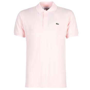 衣服 男士 短袖保羅衫 Lacoste POLO L12 12 REGULAR 玫瑰色