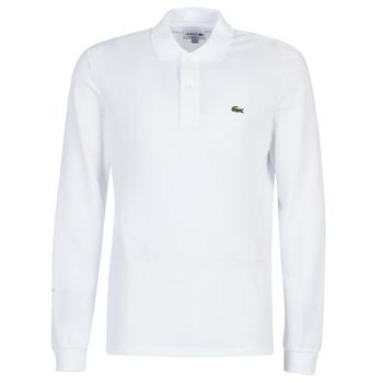 衣服 男士 長袖保羅衫 Lacoste L1312 白色