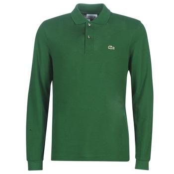 衣服 男士 長袖保羅衫 Lacoste L1312 綠色