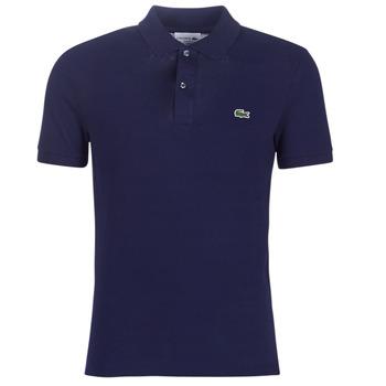 衣服 男士 短袖保罗衫 Lacoste PH4012 SLIM 海蓝色