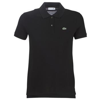 衣服 女士 短袖保罗衫 Lacoste PF7839 黑色